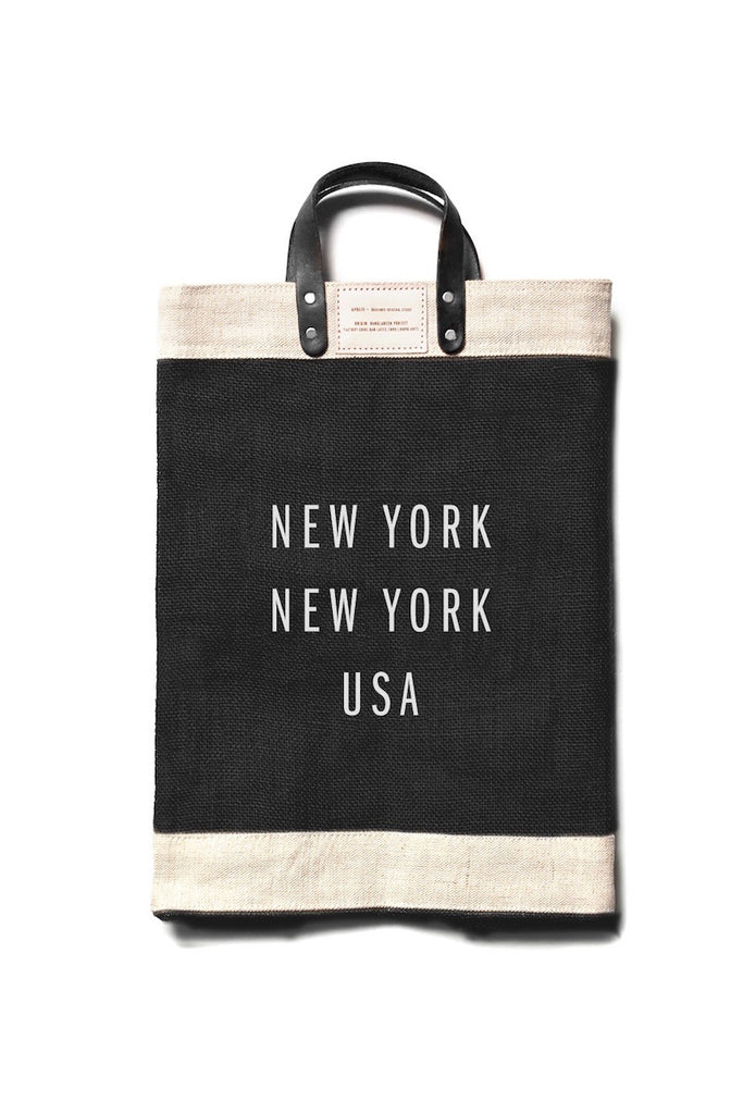 apolis new york market bag_Black Coverstory