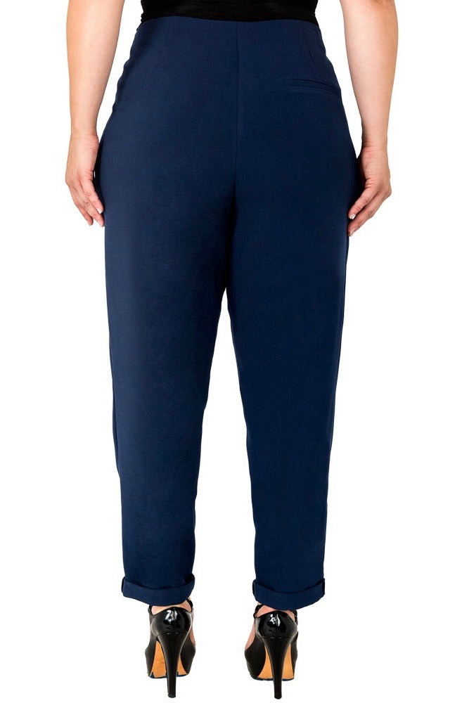 standards & practices plus size Francine Hi-Rise Pants midnight