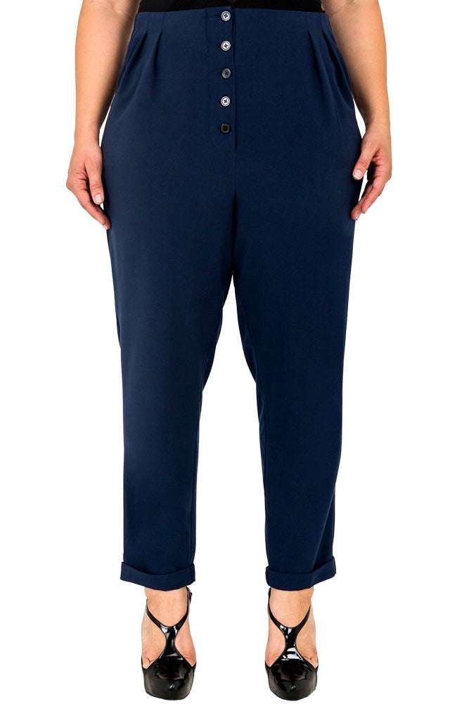 Standards & Practices Francine Hi-Rise Pants - Midnight