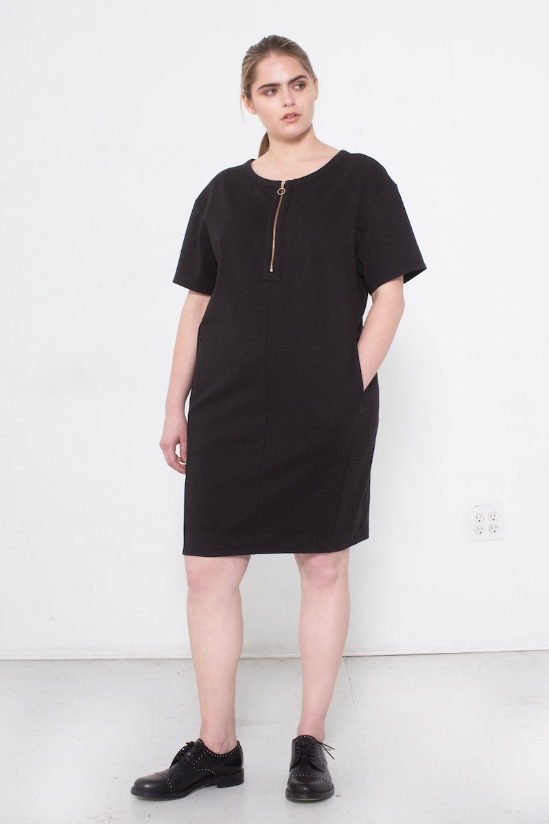 See Rose Go My Go-To Dress Black plus size Coverstory