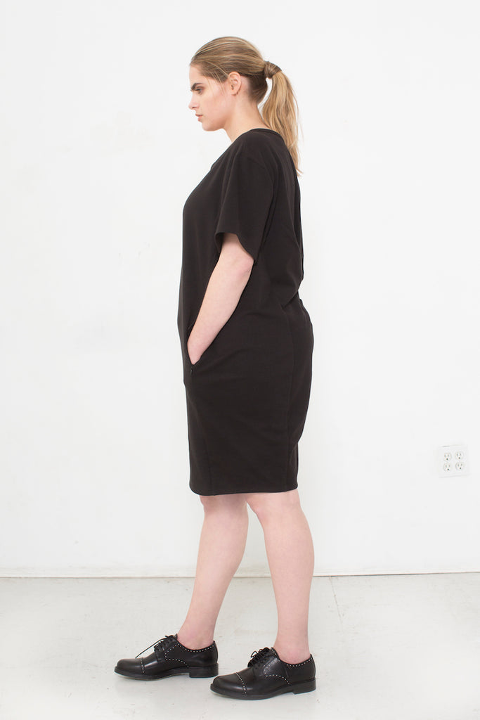 See Rose Go My Go-To Dress Black plus size CoverstoryNYC