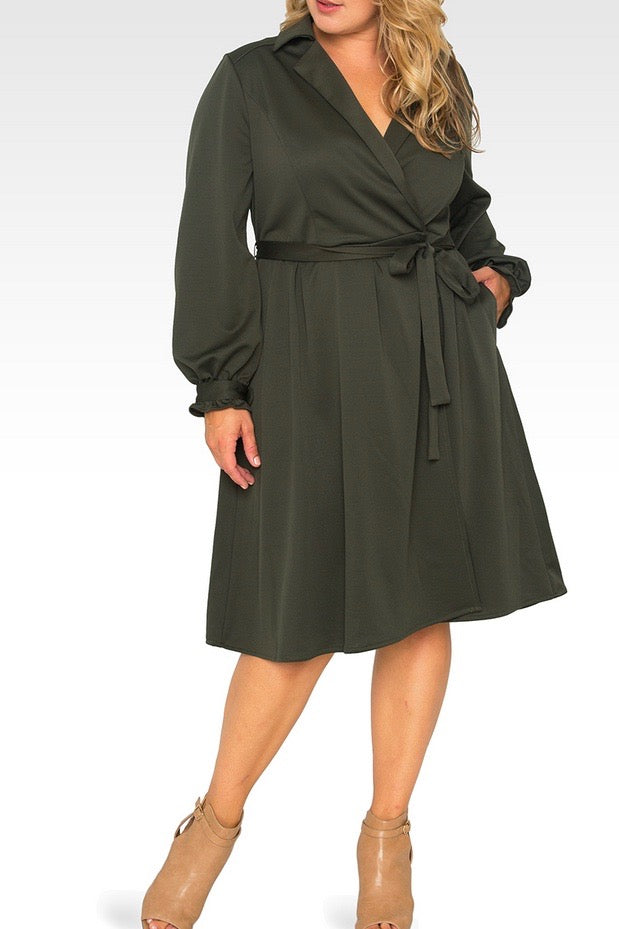 Standards & Practices - Lara Wrap Dress