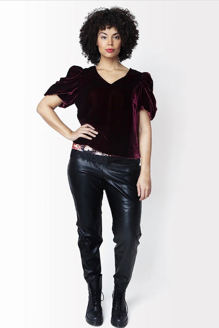Shegul Vicky Top - Bordeaux