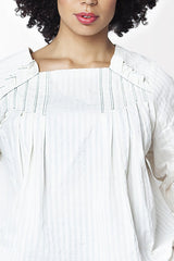Shegul Sue Pleated Top