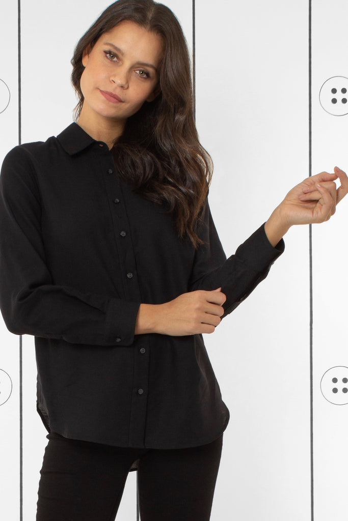 Thirteen-Seven Risky Business Shirt - Feather Black