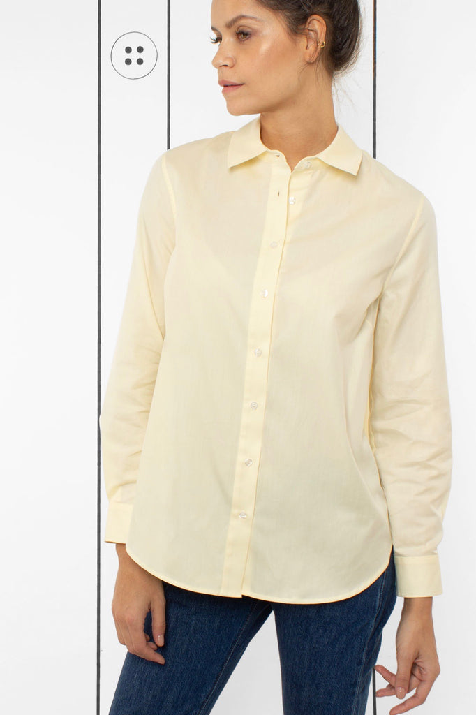 Thirteen-Seven Risky Business Shirt - Pale Moon
