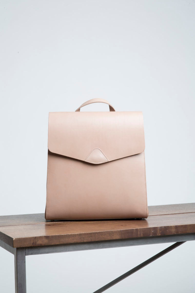 Vereverto mini macta convertible bacpack taupe coverstorynyc