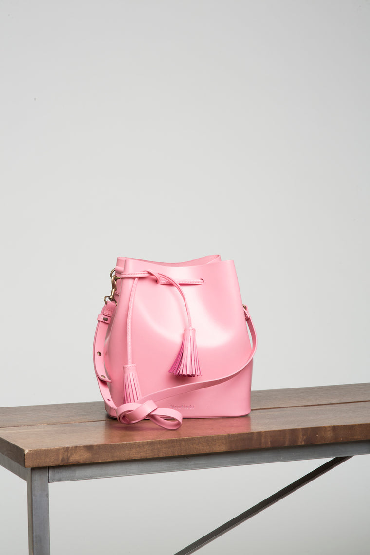 VereVerto Dita Bucket Bag - Pink