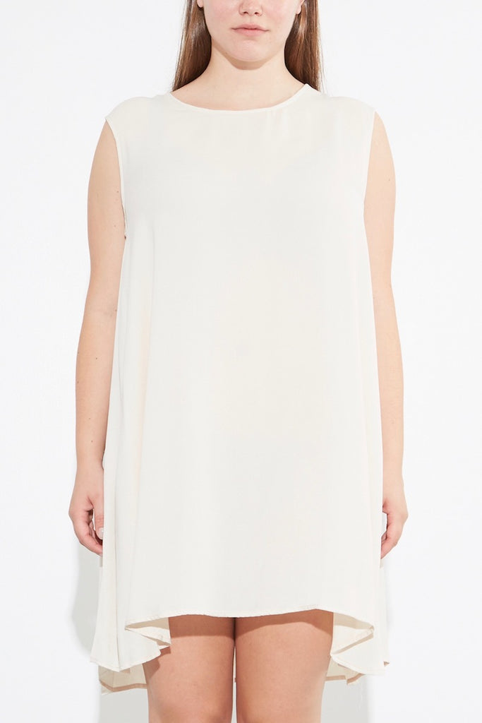 OAK Para Dress Ivory Plus size CoverstoryNYC