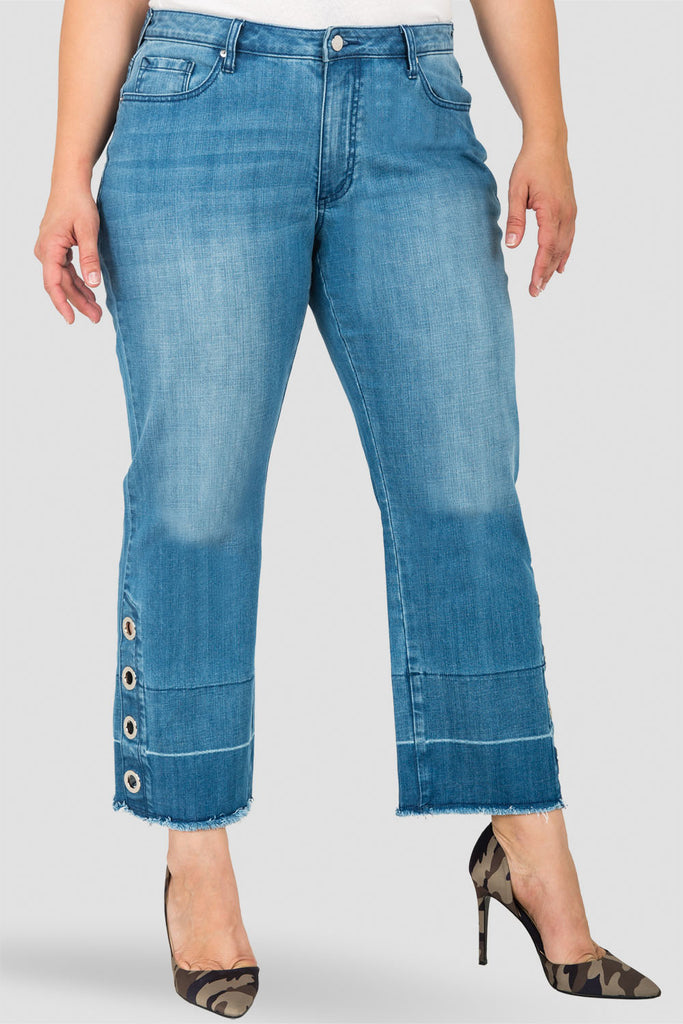 Standards & Practices Meryl High-Rise Cropped Jeans