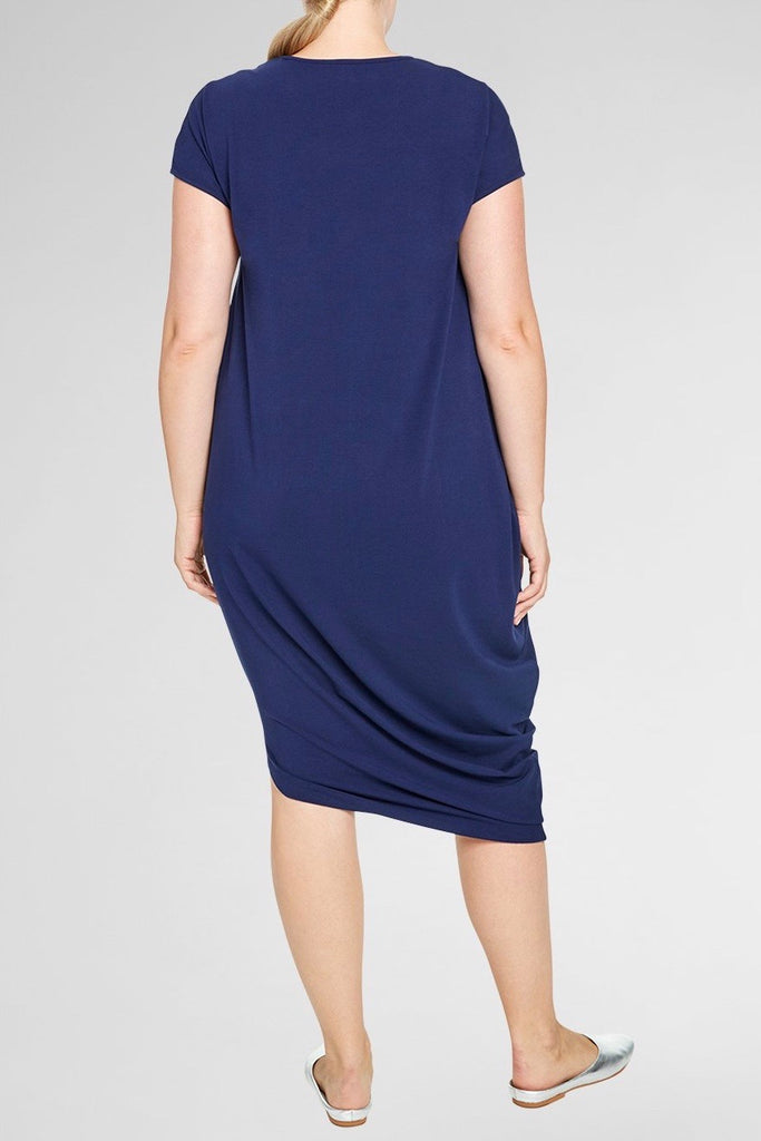 universal standard geneva dress evening blue plus size
