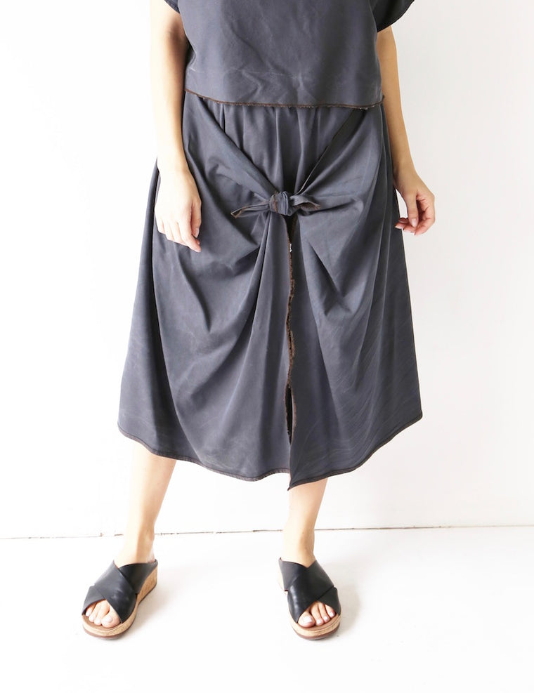 Hackwith Design House x Coverstory Knot front Skirt