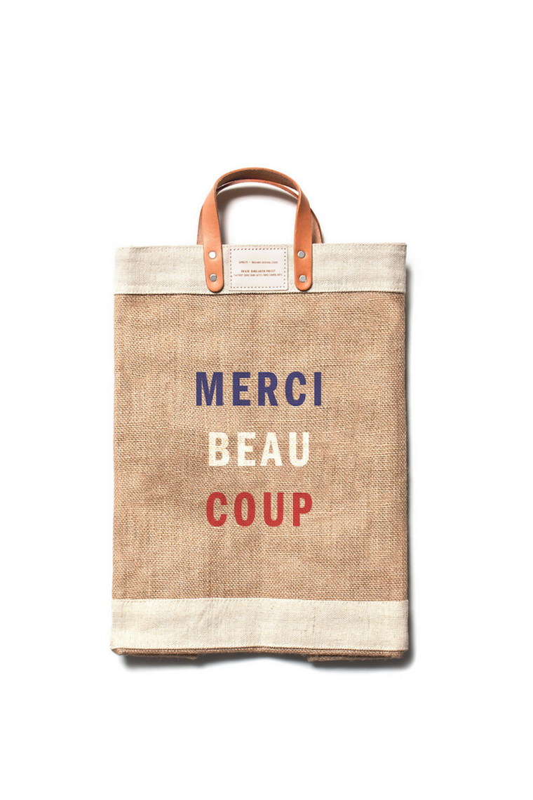 Apolis + Clare V. Merci Beaucoup Market Bag