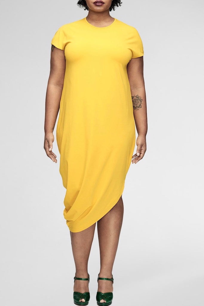universal standard geneva dress plus size yellow CoverstoryNYC