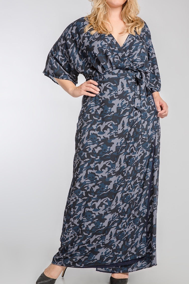 Standards & Practices Olivia Maxi Dress - Camo