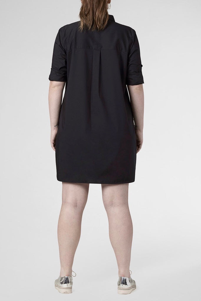 universal standard plus size rubicon dress black