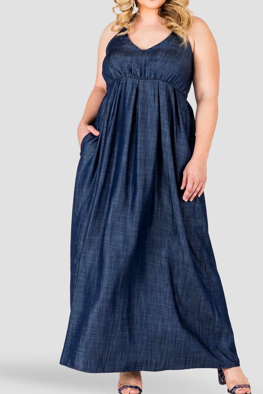 Standards & Practices - Maui Halter Maxi Dress