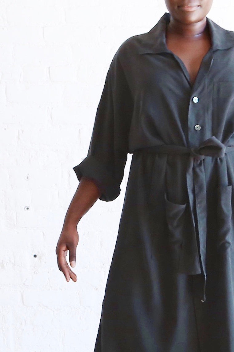 Hackwith Design House - Midi Shirtdress