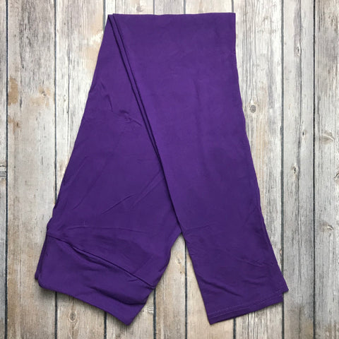 Solid Purple Yoga