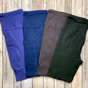 Solid Color POCKET yogas!
