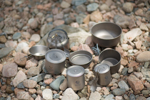 TIHOX Titanium 450ml Cup With Lid