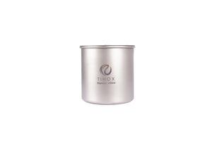 TIHOX Titanium 650ml Pot With Lid