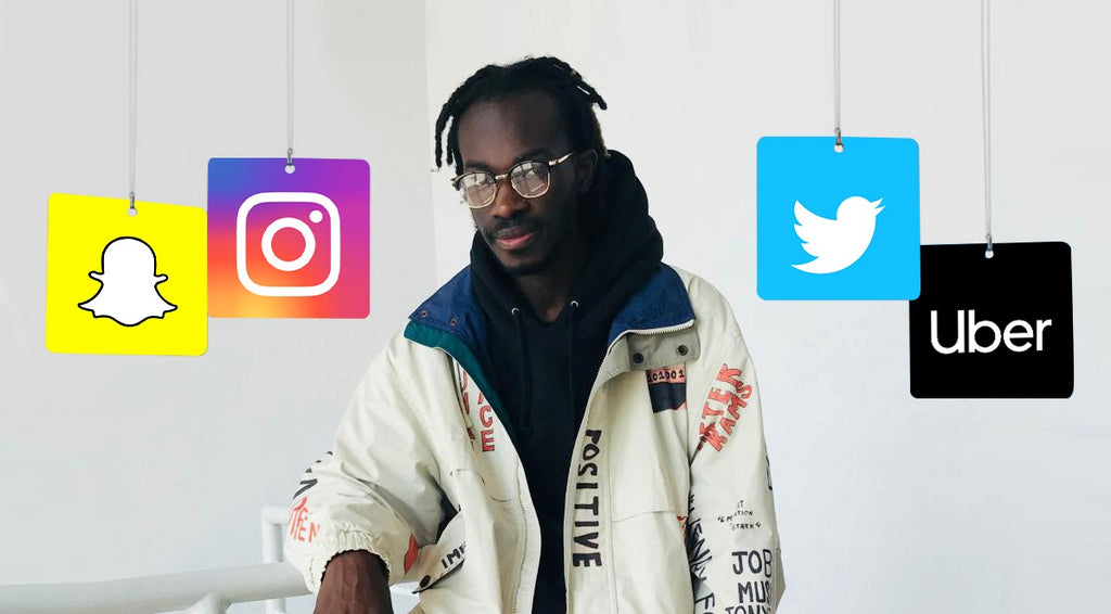 At just 21, Iddris Sandu is the tech genius behind Uber, Instagram and Snapchat