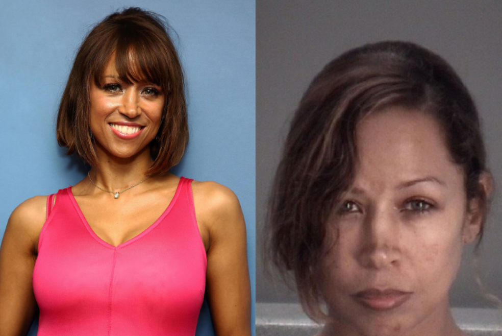Stacey Dash, charged with domestic assault hours after SHE called 911 to report her husband Jeffrey Marty 'put her in a chokehold