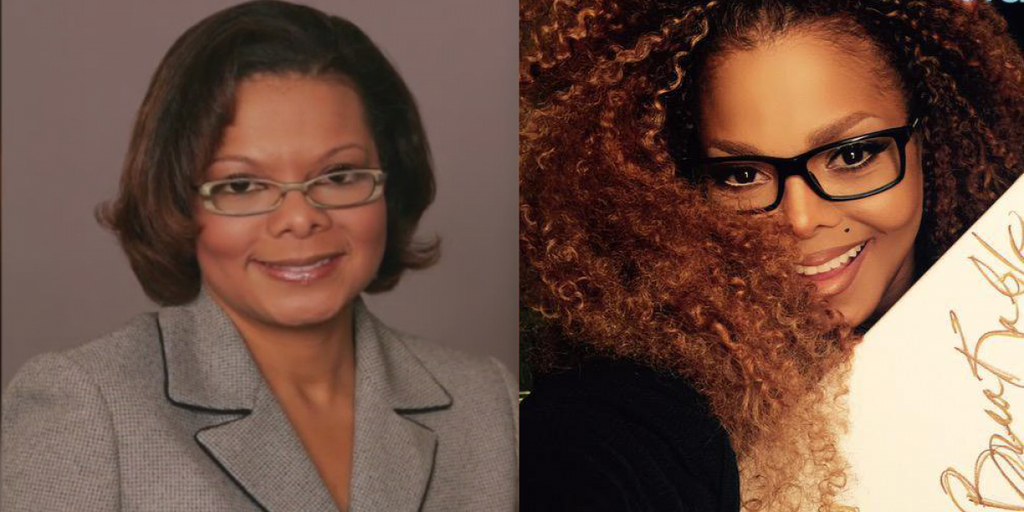 People Think This Virginia School Superintendent Looks A Lot Like Janet Jackson.