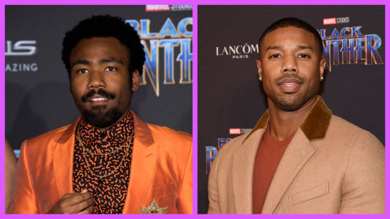 Donald Glover & Michael B. Jordan Rumored for 'Black Panther 2' Villains