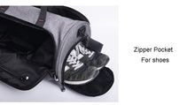Waterproof Sports Gym Bag for Women & Men Fitness,