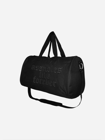 ALF MEDIEVAL BLACKOUT DUFFLE BAG BLACK