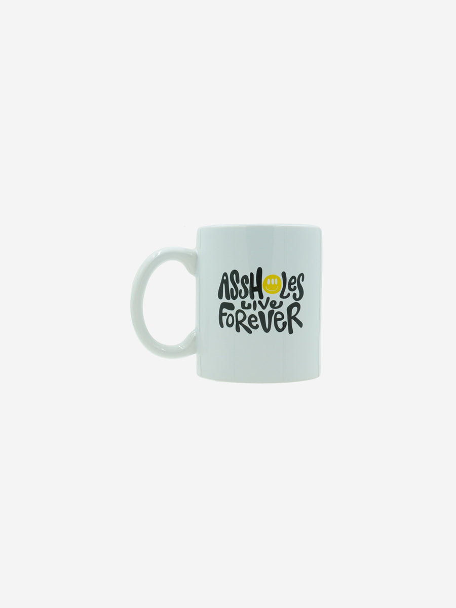 HAPPY ASSHOLES Mug White