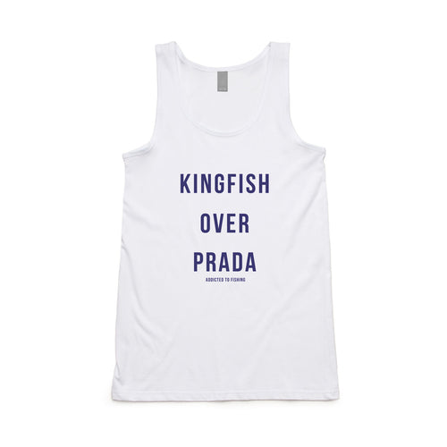 Kingfish Over Prada Singlet