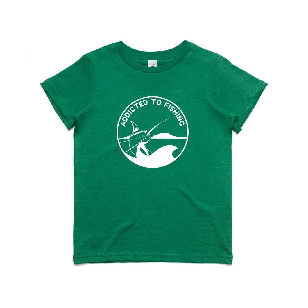 Kids ATF Badge tee