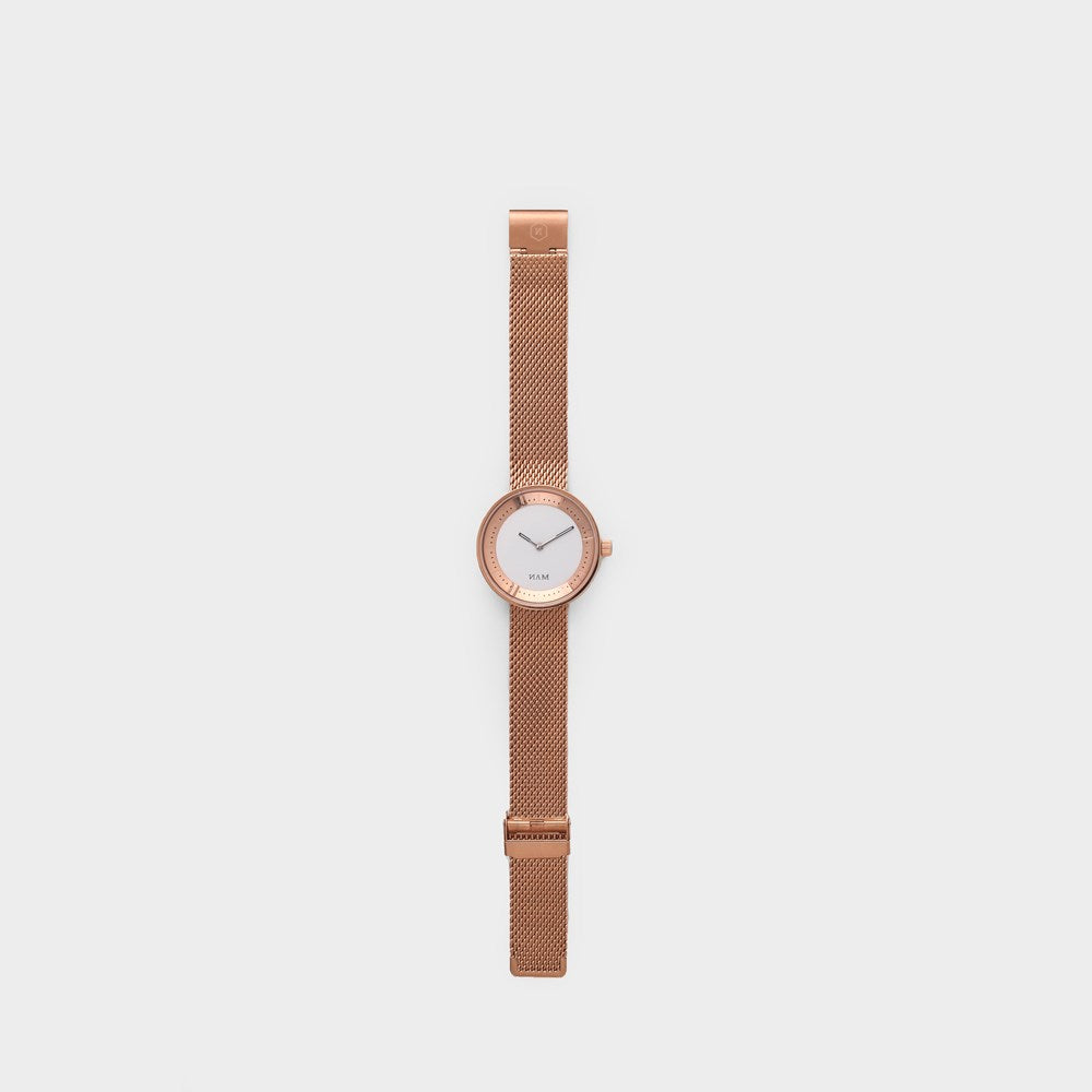 Toba Mesh Rose Gold