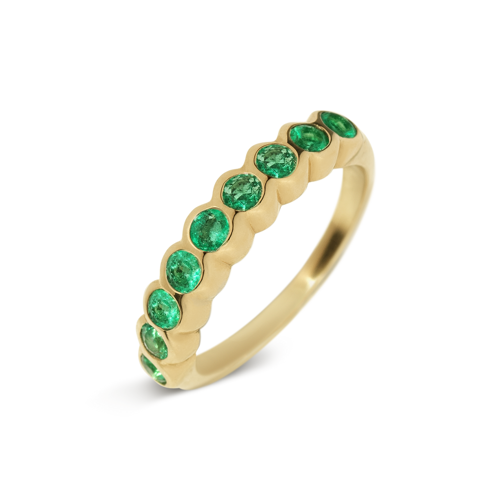 Womans Emerald Ring