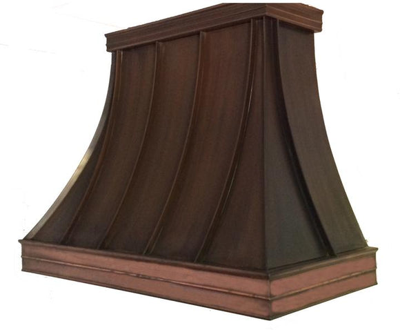 Bordeaux - Copper hood - 8 foot ceiling