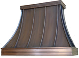 Bordeaux - Copper hood - 9 foot ceiling