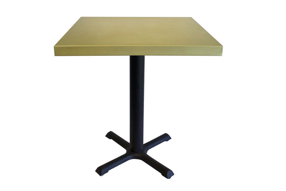 Compact Table With Steel Base, 24