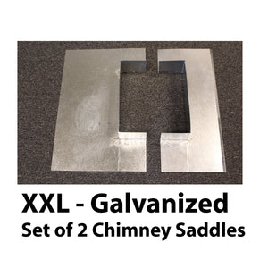 Saddle Flashing - XX Large, Galvanized
