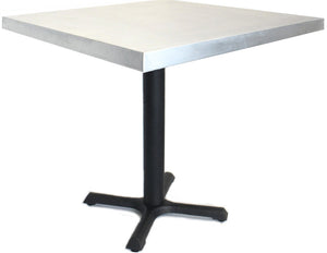 "Compact Table With Steel Base, 24"" x 24"" x 30"""