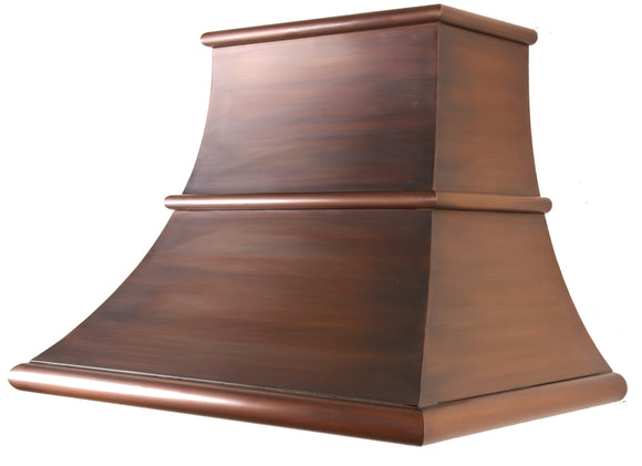 Madrid - Copper hood - 9 foot ceiling