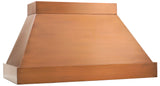 Modernist - Copper hood - 9 foot ceiling