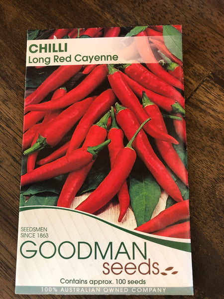 Chilli - Long Red Cayenne