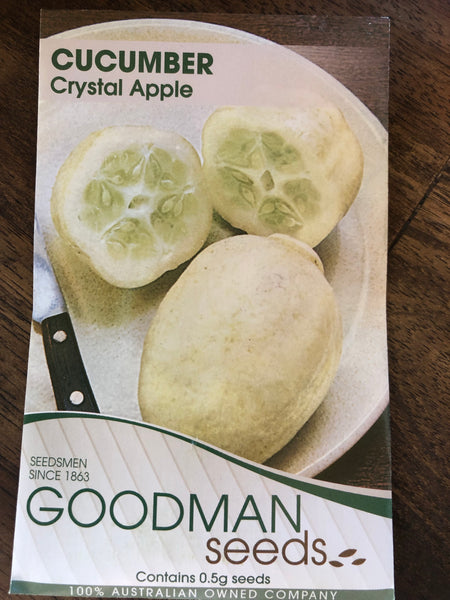 Cucumber - crystal apple