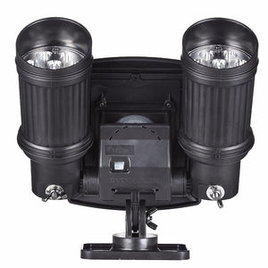 Dual Head Solar Spotlight