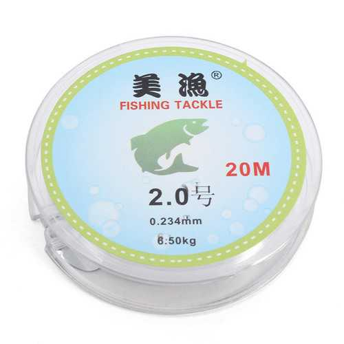 ZANLURE 20M Nylon Fishing Line Monofilament Fishing Line Carp Wire Fishing Sea Fishing Line