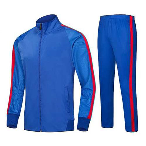 Casual Stitching Color Running Training Sportswears