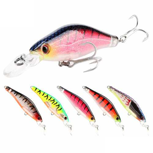 SeaKnight SK043 5PCS 6.5g 65mm Fishing Lure 0-1.2M Suspending Wobblers Hard Baits Carp Lure